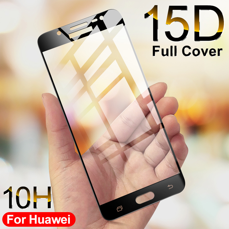 15D Full coverage Tempered Glass For Samsung Galaxy J3 J5 J7 2017 2016 J4 J6 Plus 2018 on J5 J6 2017 pro Screen Protector Glass-in Phone Screen Protectors from Cellphones & Telecommunications