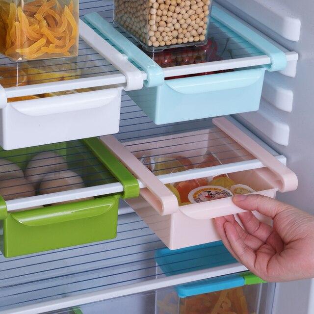 Fournitures De Cuisine Réfrigérateur Tiroir Organisateur étagère à