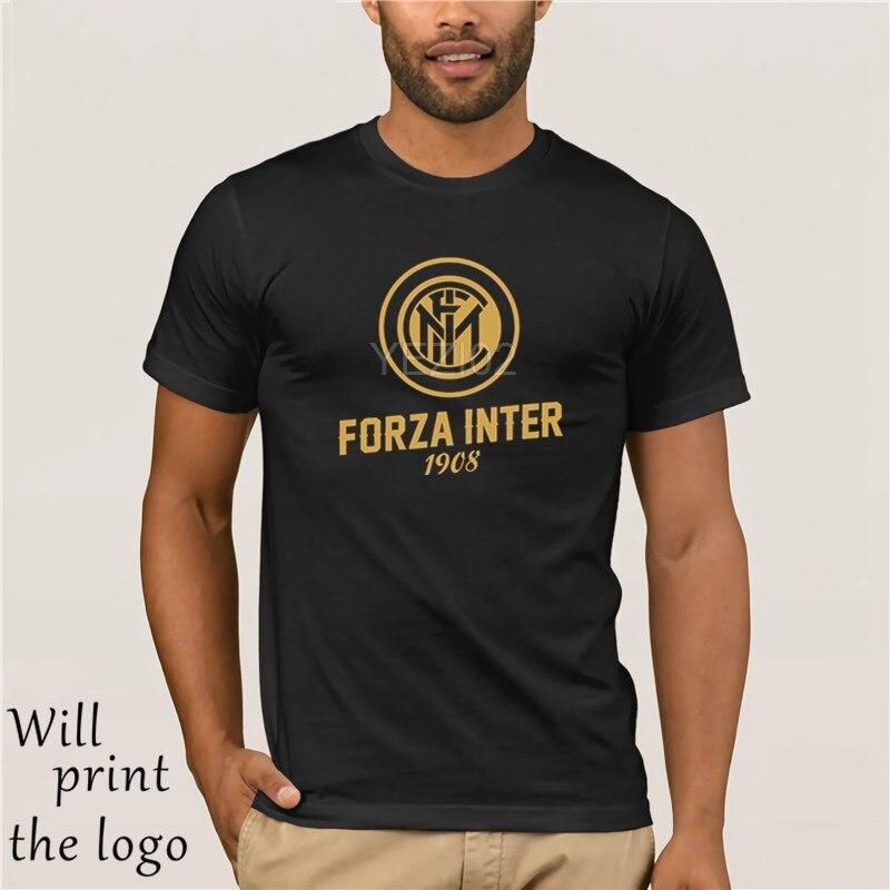 Serie A ITALIA Inter FC Fans Maglietta T-Shirt Milan Club Giuseppe Meazza Nerazzurri Rivero Stevan Medel Candreva Gabriel (501)