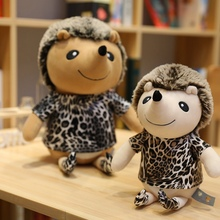 1pc 25-50cm The Simulation Of The Leopard Hedgehog Mouse Animal Doll Plush Toys For Christmas Gift High Quality Stuffed Animals barbery m the elegance of the hedgehog