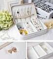 Women Japanese Style Rhinestone Bowtie Knot Jewelry Watch Bag Makeup Cosmetic Storage Bag Gift