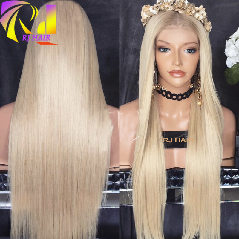 Long Blonde Human Hair Wig Brazilian Remy
