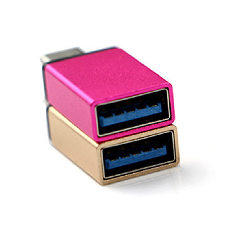 Type-C Male Connector To Micro USB 3.0 Female USB  Converter Data Adapter High Speed Android Certified Cell Phone Accessories