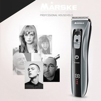 Household Waterproof Rechargeable Ceramic Cutter Head Hair Clipper Electric Haircut Kit Hair Trimmer for Men & Baby