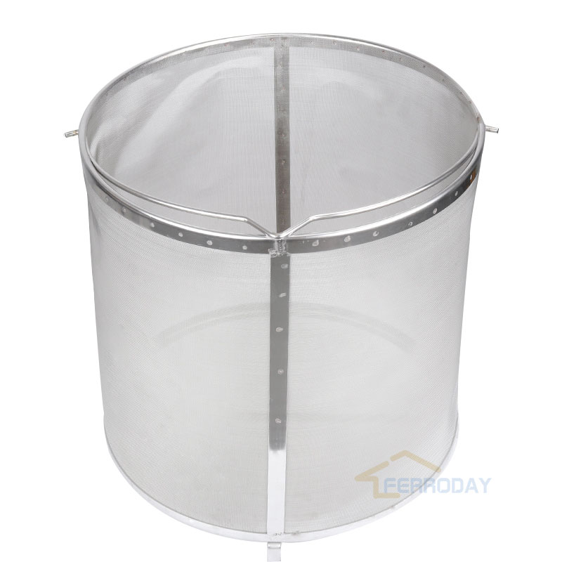 Homebrew hop filter stainless steel strainer pot 300 mesh top quality wonderful design for home brewing
