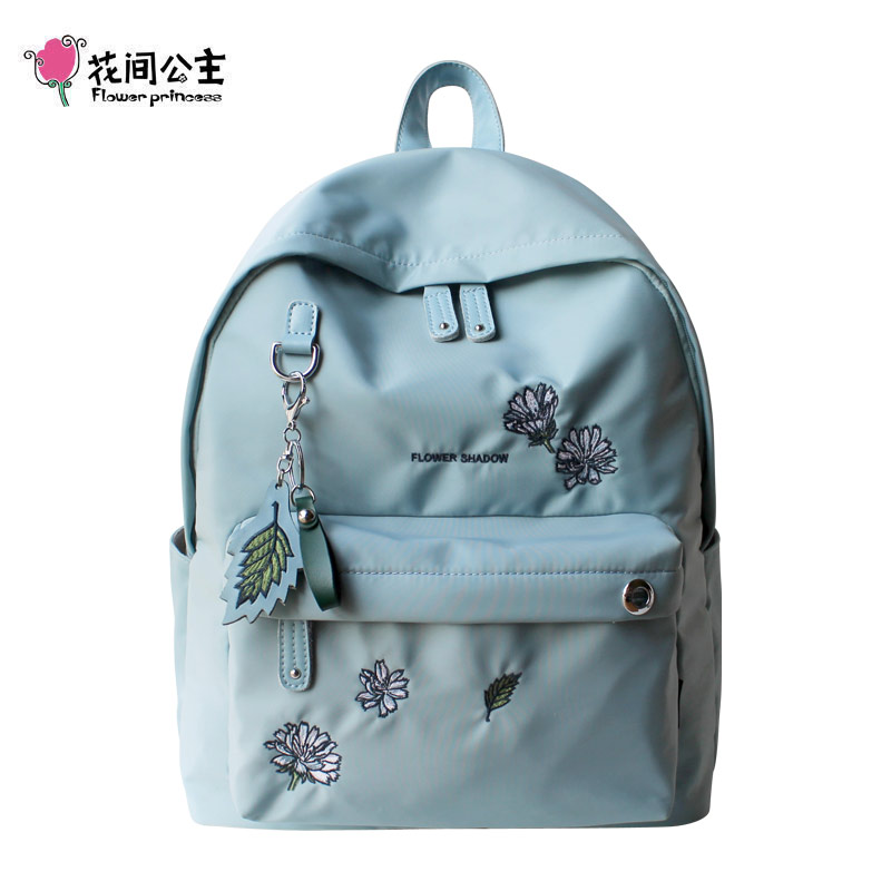 Flower Princess Women Backpack Fashion Youth Korean Style Laptop Backpack Schoolbags for Teenager Girls Bags for Women 2018 shein letter color block satchel large backpack multicolor women casual bags youth shoulder bag schoolbags for teenager