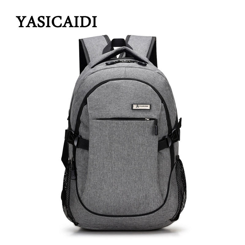 2018 Anti-thief Laptop Backpack USB Charging Youth Backpack for Women Male Bagpack School Backpack for Teens Canvas Daypack heart thief