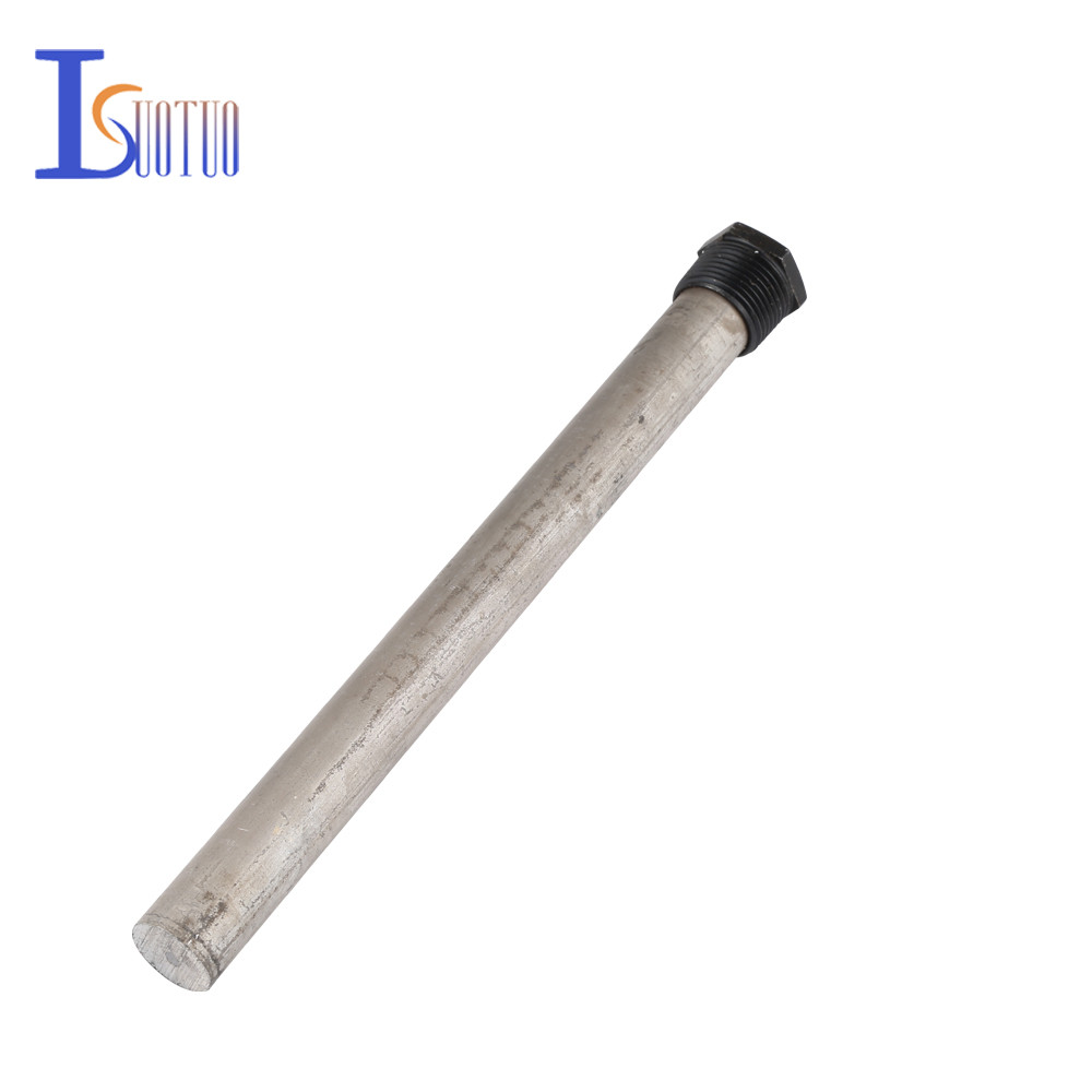 O 21*245mm A Smith Electric Water Heater Magnesium Rod With Flange Genuine Original Assembly Parts Sewage Outlet Pipe