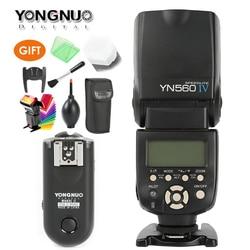 YONGNUO YN-560 IV Master Radio Flash Speedlite + RF-603 II Wireless Trigger for Canon 1000D 650D 550D 450D 6D