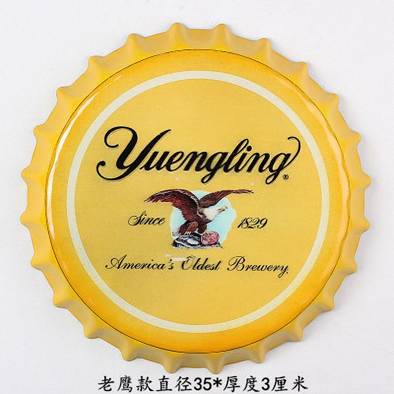 """Tin Sign """"Yuengling"""" Vintage Metal Painting 3D Beer Cover Bar pub Hanging Ornaments Wallpaper Decor Retro Mural Poster Craft"""