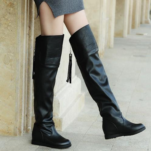 Online Get Cheap Thigh High Boots Flat -Aliexpress.com | Alibaba Group