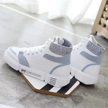 Men and Women Sneaker Running Shoes White summer Increased Outdoor Sneaker size eur36-44