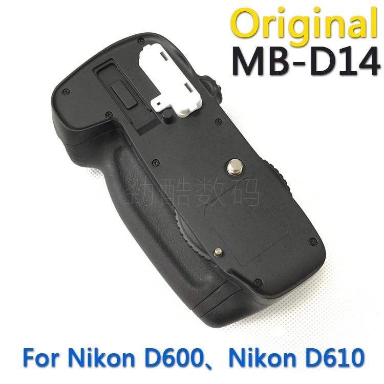 Original new MB D14 Battery Grip for Nikon D600 D610 AA Battery EN EL15 holder MBD14