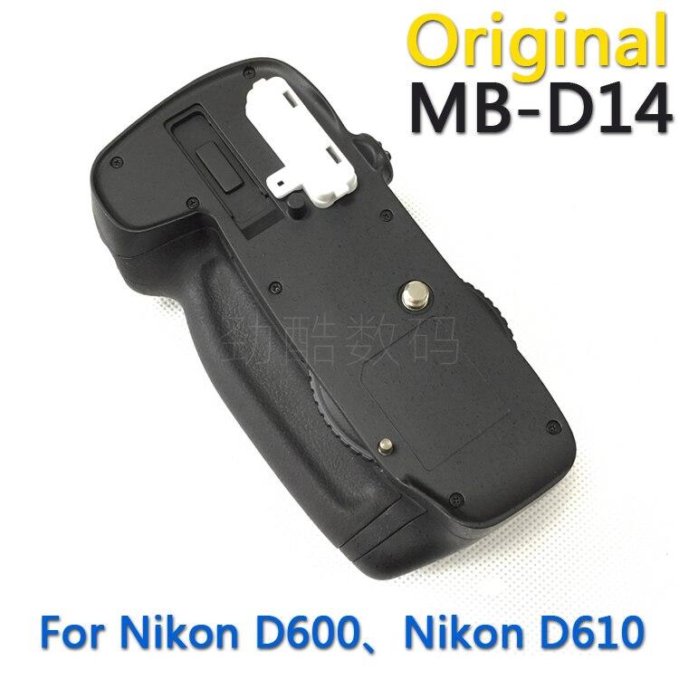 Original new MB-D14 Battery Grip for Nikon D600 D610 AA Battery EN-EL15 holder MBD14 MB D14 camera grips free shipping