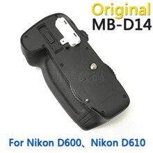 Unique new MB-D14 Battery Grip for Nikon D600 D610 AA Battery EN-EL15 holder MBD14 MB D14 digital camera grips free transport