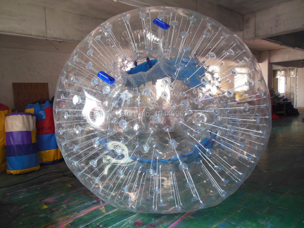 Free shipping !! Top quality Dia 2.5m inflatable bumper ball zorb ball body ball