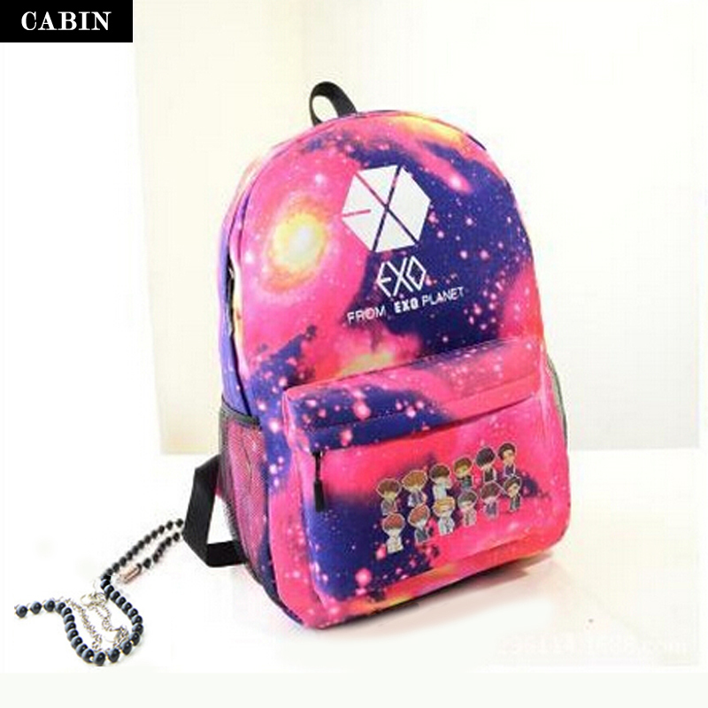 Star school backpacks for teenage girls women flower backpack ...
