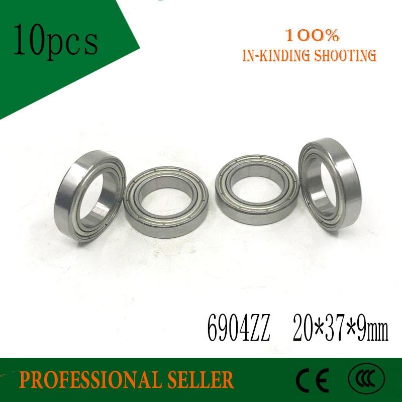 6904 ZZ Ball Bearing ABEC-1 20*37*9 mm 5PCS Metric Thin Section 6904 2Z 61904