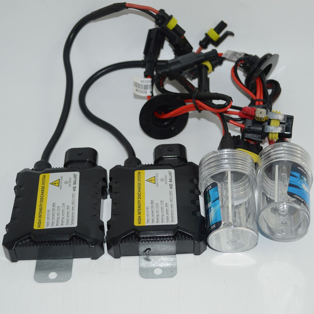 цена на Xenon H1 Hid Kit 55 Watt H7 H3 H4 xenon H7 H8 H10 H11 H27 HB3 HB4 H13 9005 9006 HID xenon kit Car Headlight bulbs lamp