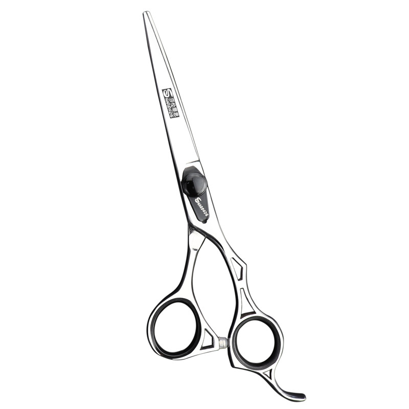 Купить с кэшбэком 6 inch barbershop hairdresser hair scissors 440c professional high quality sharp tijeras de peluqueria professional 6 tesoura