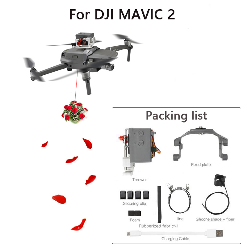 Voucher Chance for  DJI MAVIC 2 Drone Remote delivery Parabolic Air-Dropping system for DJI Mavic 2 Pro/Zoom Drone Acce