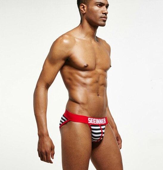Buy 2018 Low Waist Sexy Men Underwear Cotton Briefs Gay Wonderjock Hot Mens Tight Bikini tight Male Fashion Sleepwear Underpants