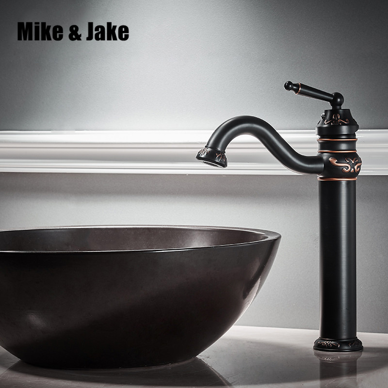 Black basin faucet bathroom single handle water tap black sink tap cold and hot mixer tap basin mixer waterfall tap MJ4846 xoxo modern bathroom products chrome finished hot and cold water basin faucet mixer single handle water tap 83007