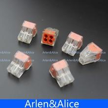 20 шт. pct-104 нажмите провода разъема проводки распределительная коробка 4 pin проводник; распределительная коробка