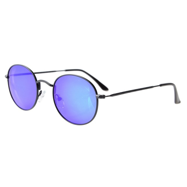 S1509 Eyekepper Vintage Style Quality Round Polarized Sunglasses