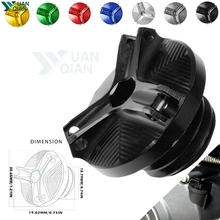 For yamaha FJR1300 FJR 1300 FJR1300A ABS Motorcycle accessories M20*2.5 Engine Oil Filter Cup Plug Cover Screw
