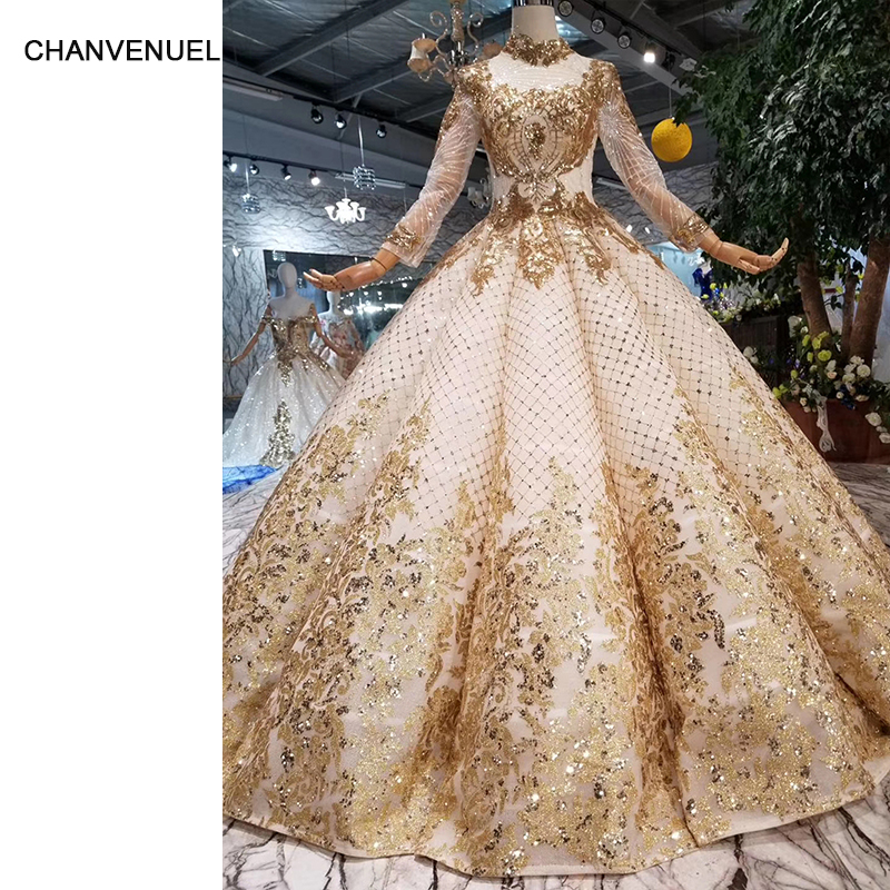 HTL093 luxury dubai   evening     dress   high neck long sleeve ball   dress   curve shape women occasion   dress   high quality prom   dress   2019