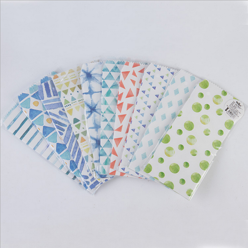5pcs/lot Kawaii Blue summer envelopes small envelope writing paper stationery birthday christmas card gift