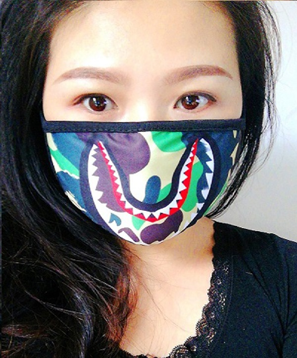 2018 Hot Bathing Ape Shark Black Face Mask Camouflage Mouth muffle Cover-in Party  Masks from Home   Garden on Aliexpress.com  0aa0780f1f54