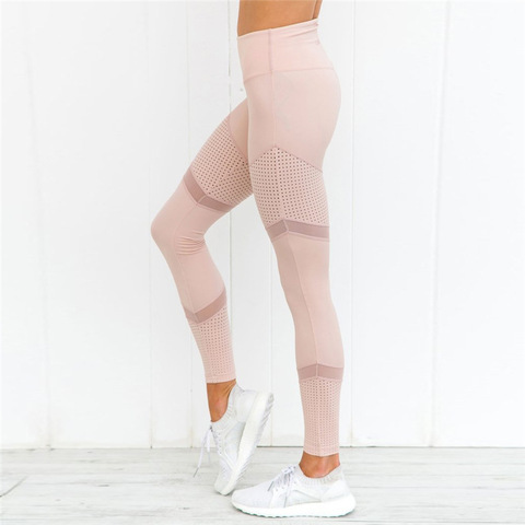 CHRLEISURE Sexy High Waia Mesh Leggings Women Fitness Push Up legging Trousers Feamle Workout Leggings Bodybuding Clothing Islamabad