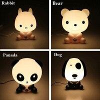 POTENCO Cute Animal Children S Night Light Baby Room LED Nightlights Cartoon Sleeping Night Lamp Kids