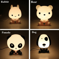 POTENCO Cute Animal Children S Night Light Baby Room LED Nightlights Cartoon Sleeping Night Lamp Kids