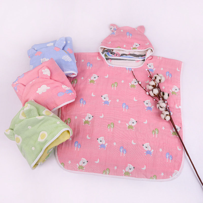 Style; In 6-24 Months Safe Chair Blanket Spring Autumn Newborn Baby Outerwear Infant Coats Cartoon Cute Hooded Cloak Boys Girls Jackets Fashionable