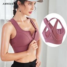 Sport Bra Top Crop Big Size Running Fitness Yoga Gym Active Wear High Impact Sup