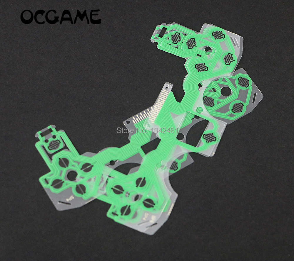 Detail Feedback Questions About Ocgame 3pcs Lot New Sa1q43 A Controller Repair Parts Pcb Ribbon Circuit Board M Type For Ps2 10pcs Green Conductive Film Ps4 Keypad Flex Cable