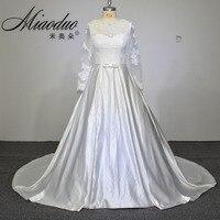 Vestido De Noiva Long Sleeves Wedding Dresses Bead Belt Ball Gown Wedding Dress Bridal Gowns Vestidos