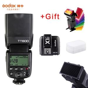 Image 5 - Godox TT600s Camera Flash Speedlite 2.4G Wireless Master Slave X1T S Trigger HSS TTL for Sony a6000 a7 II III IV a58 a6500 a6300