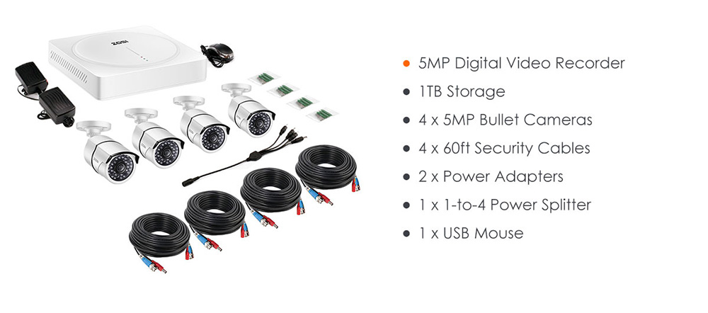 4 channel security system 500W-S+161_10