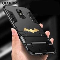 Custodia per cavalletto Bat per Xiaomi F1 Redmi 4 4X 5 Plus 5A 6 Pro 6A 7 8 9 SE nota 8 6 7 armatura antiurto custodia rigida ibrida