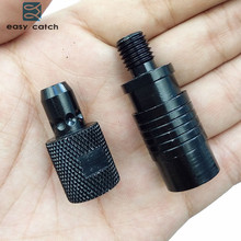 Easy Catch 3pcs Aluminum Alloy Quick Release Adapter Connector Carp Fishing Rod Bite Alarm Rod Holder Connector Accessories