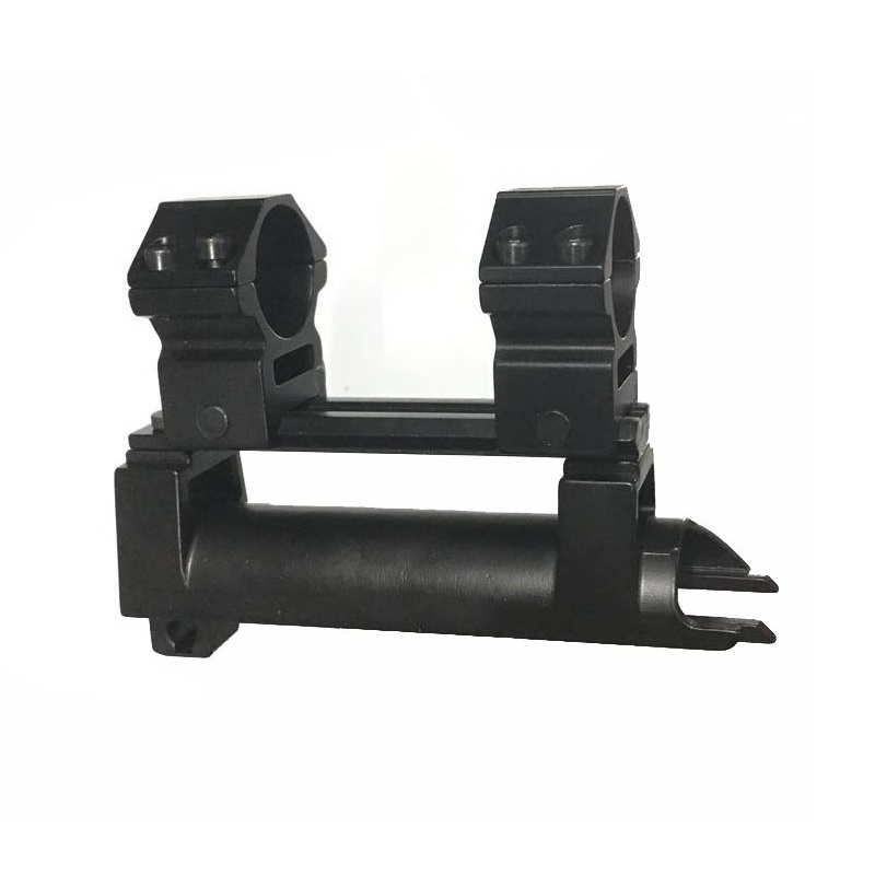 Tactical 20 mm Scope Mount SKS Steel Top Receiver Cover With High-profile See-Thru Rail Weaver  Picatinny w/ VI05047