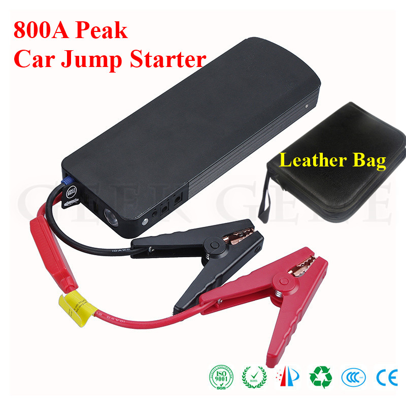 Car Jump Starter 800A Peak Current Battery Fashionable Battery Booster Diesel Petrol Starting Device Emergency Auto Power Bank цена