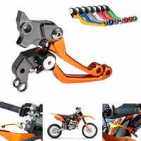 CNC Dirt Bike Pivot Bremse Kupplung Hebel Für KTM 65SX 65XC 2004 2005 2006 2007 2008 2009 2010 2011 85SX 85XC 2003 2004 2005 2006