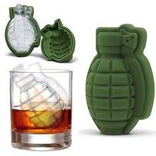 3D Grenad форма для льда лоток для мороженого Производитель вечерние барные напитки виски вино Ледогенератор силикон