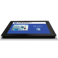 22 Inch All In One LCD Industrial Touch Wall Mounting Tabletop Desk Top