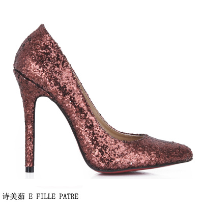 Online Get Cheap Brown Glitter Heels -Aliexpress.com  Alibaba Group